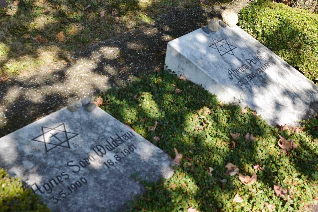 Grave of Dr. Agnes Sara Waldstein