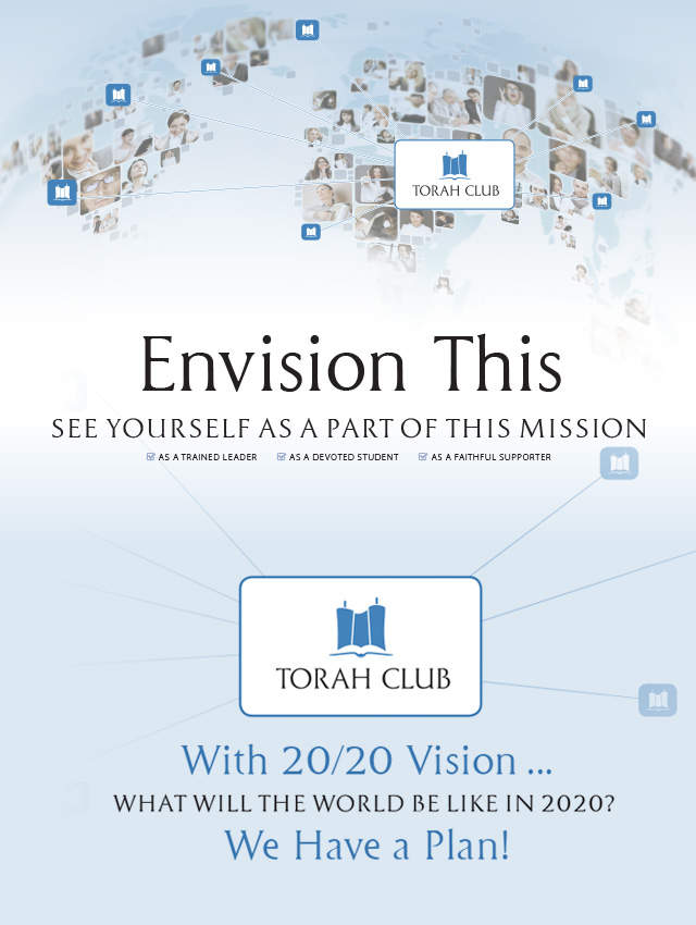 Torah Club with 20-20 Vision