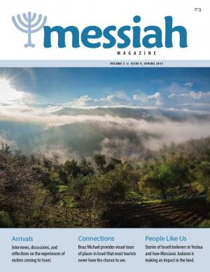 Messiah Journal #9
